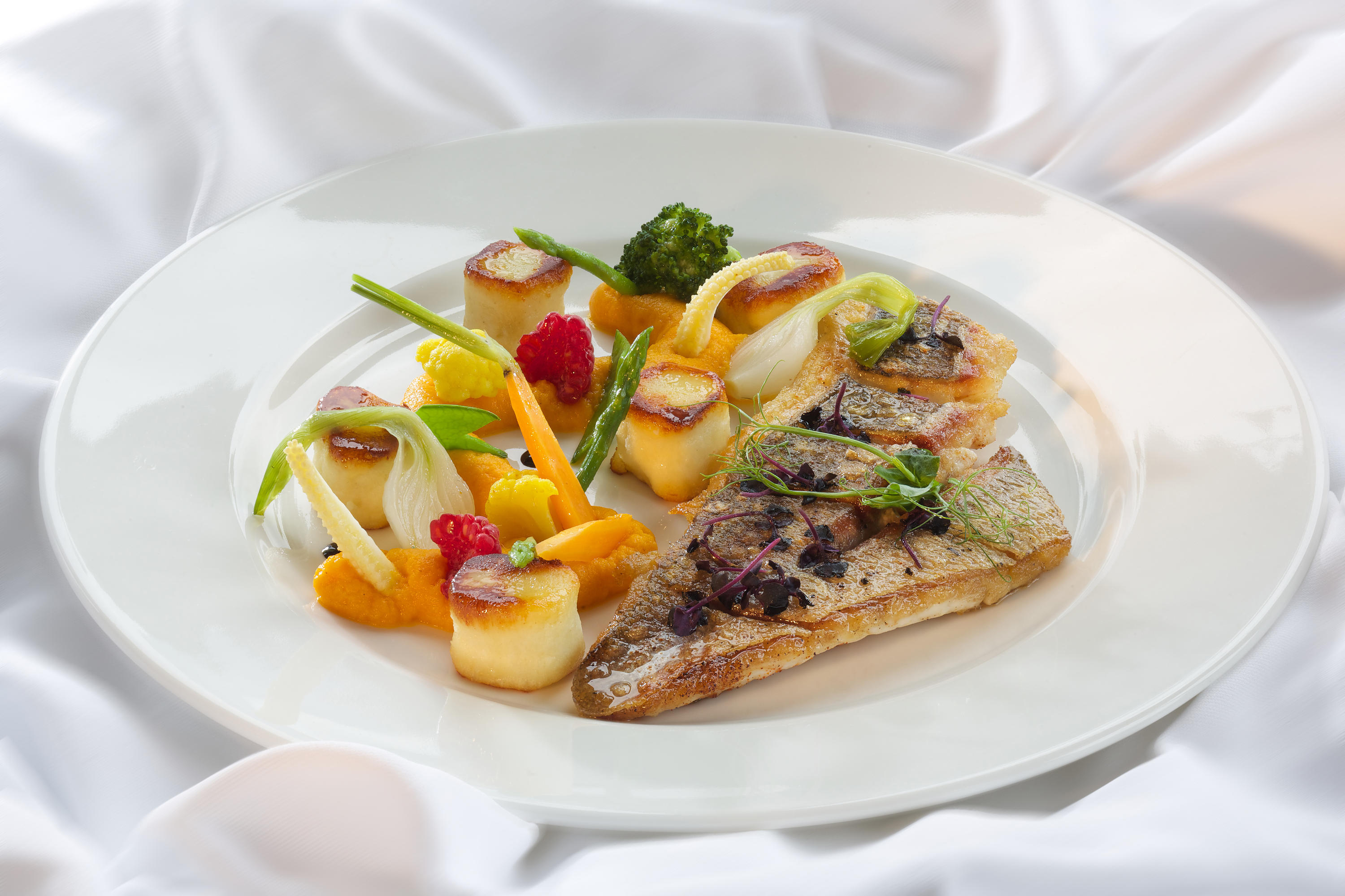 Fish main course · Restaurant · Belvedere Swiss Quality Hotel Grindelwald