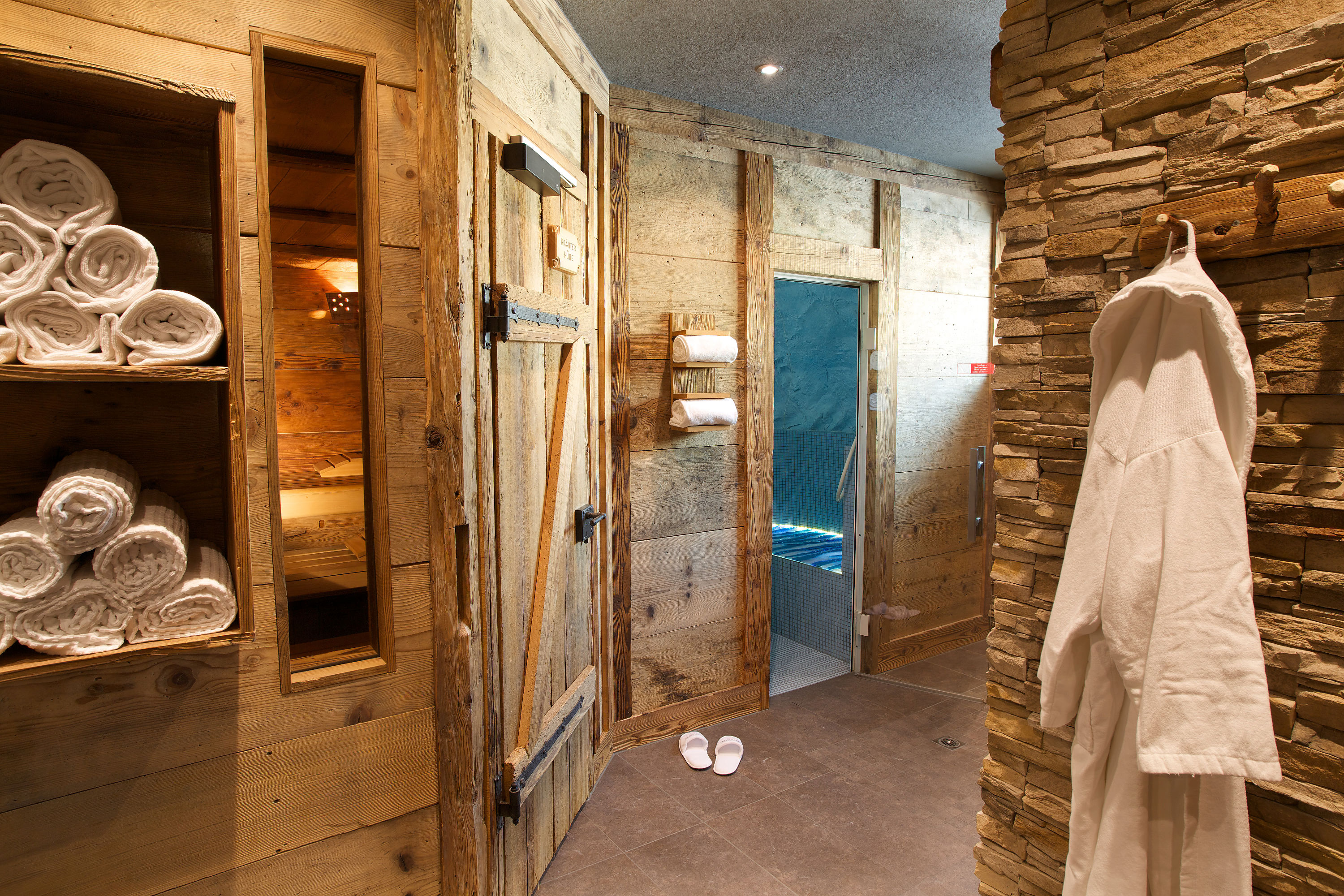 Finnish Sauna and glacier steam bath · Belvedere Swiss Quality Hotel Grindelwald