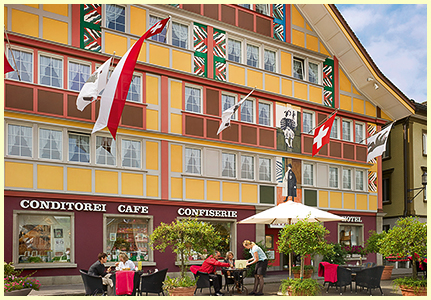Café-Hotel Appenzell - rooms lookup 3